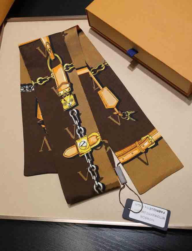 2020 diseñador de seda bufanda moda diadema de lujo marcas de lujo scraves de seda top grado seda bandas de pelo 120 * 8cm M12222