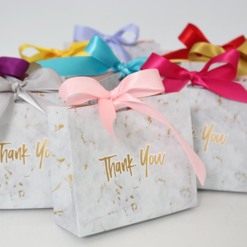 Оптом коробки для ресниц мини мрамор подарочная сумка для вечеринки шоколадная бумага пакет / свадебная упаковка ресниц одобряет конфеты ложные ресницы