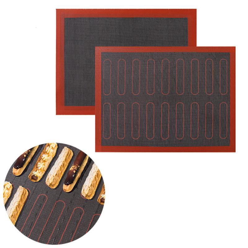 مثقب سيليكون خبز حصيرة غير عصا ورقة الفرن بطانة ل كوكي / الخبز / المكرونة مطبخ خبز الملحقات XBJK2103