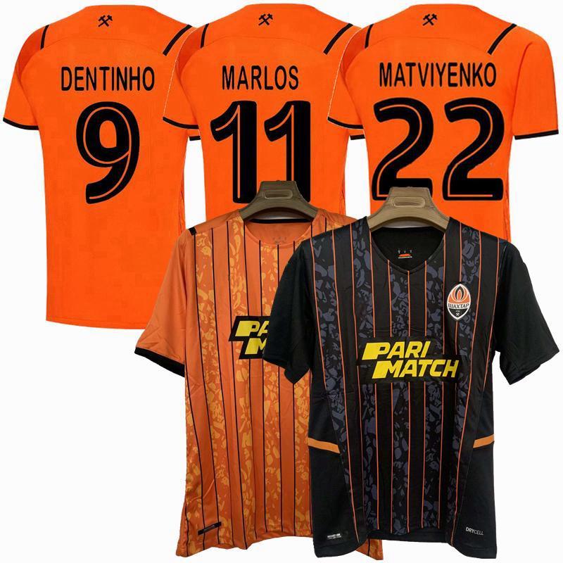 2021 2022 FC Shakhtar Donetsk Futbol Formaları Marlos Matviyenko Kornienko Taison 21 22 Eve Uzaktan Futbol Gömlek