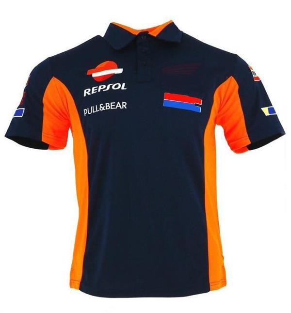 F1 Tee-shirt Team Vapel Summer New Polo Shirt La même personnalisation de style