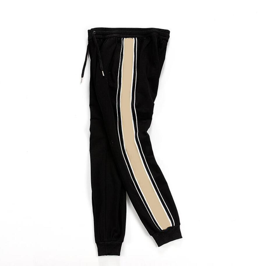 Erkek Pantolon Erkekler Için Yüksek Sokak Joggers Sweatpants Sonbahar Erkek Parça Pantolon Joggers Mektuplar Nakış Moda İpli Sıkı Joggers