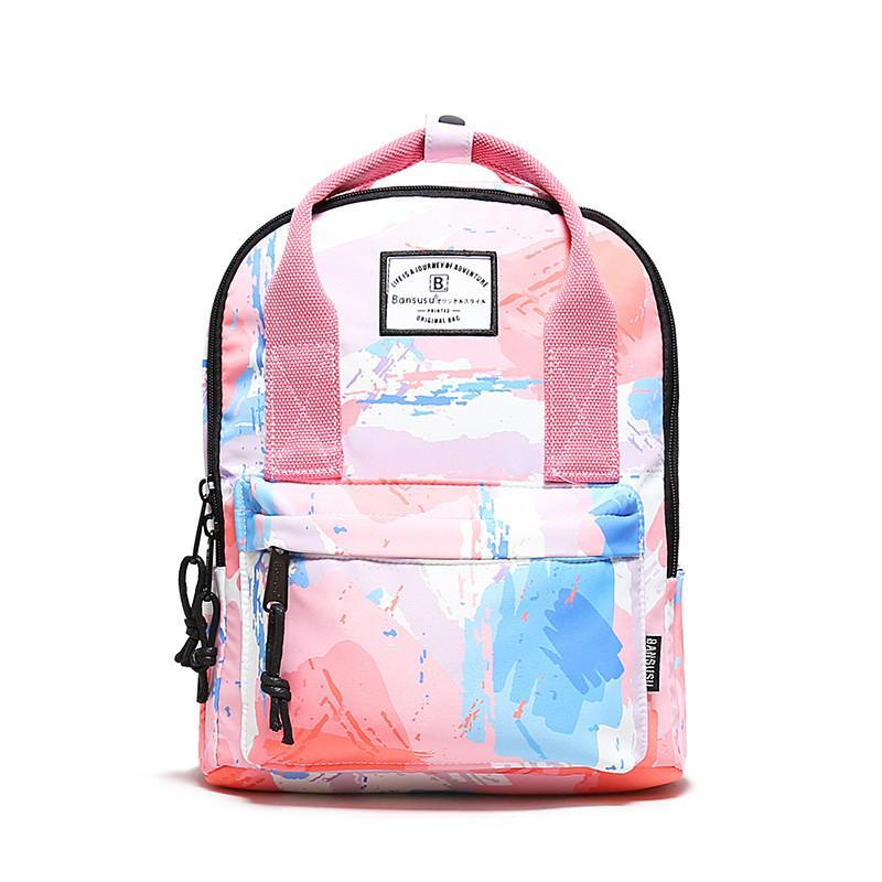 야외 가방 핑크 배낭 여성 남성 소재 품질 노트북 가방 Kawaii Back Pack 학교 십대 소녀 Bookbag