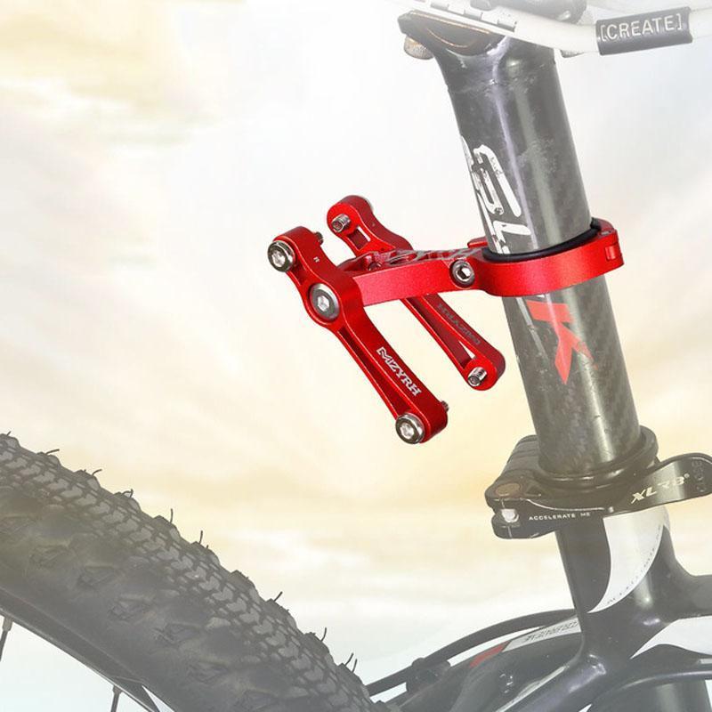 Botellas de agua Jaulas Bicicleta Bicicleta Montaña Doble Botella Cause Conversión Convertidor Asiento Soporte Adaptador multifunción Accesorios