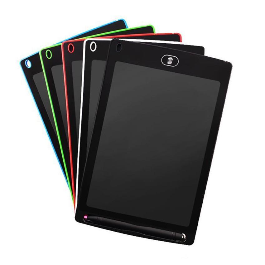 8.5 pulgadas LCD Tablero de escritura Tablero Blanco Blackboard Escribir Tablero Regalo de regalo para niños Sin papel Libreta Tableta Bloc de notas con pluma de actualización