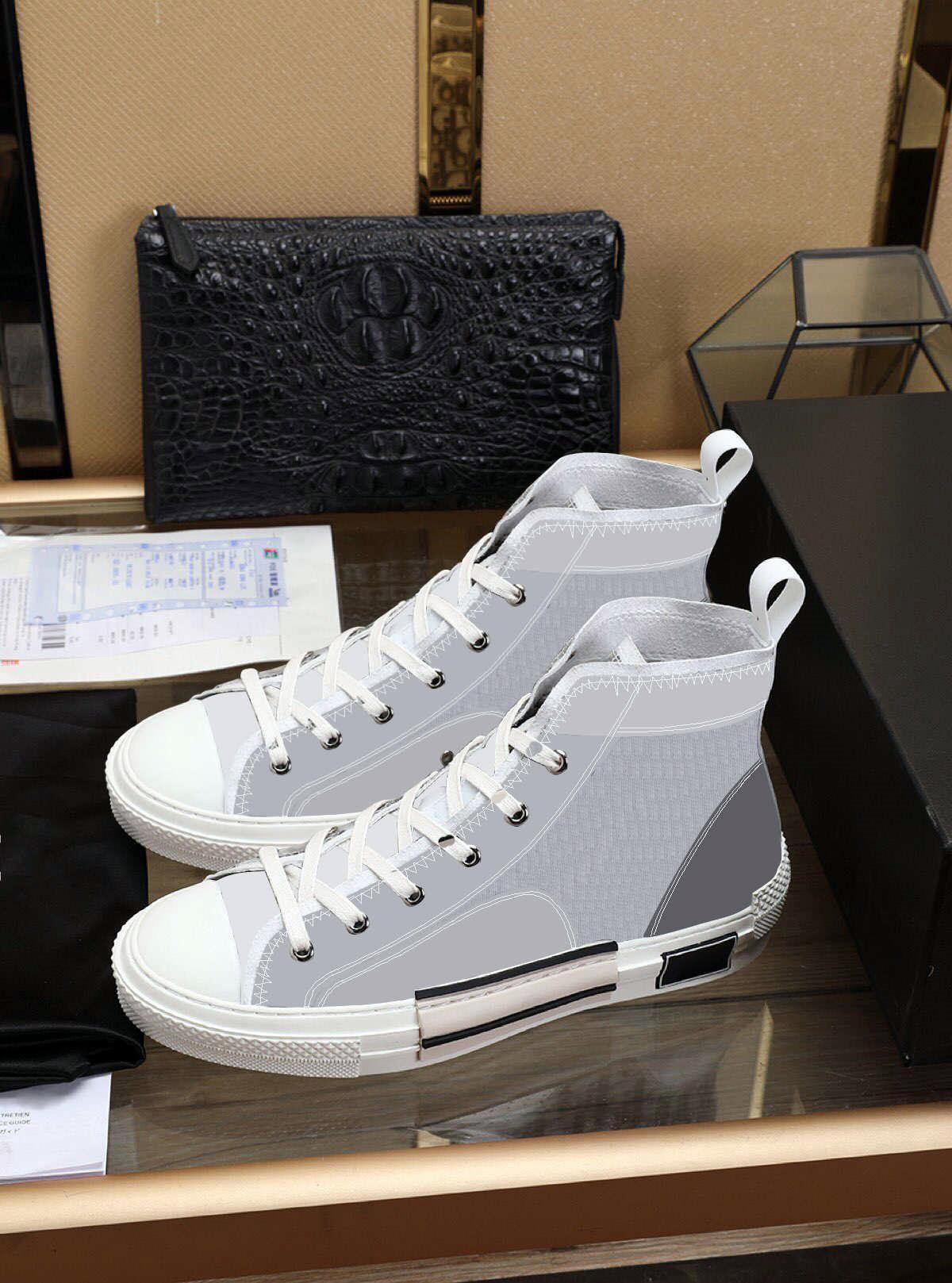 2021 جديد طبعة محدودة مخصص أحذية قماش المطبوعة، والأزياء متعددة الاستخدامات عالية ومنخفضة الأحذية، مع حجم الأحذية التعبئة والتغليف الأصلي 35-45