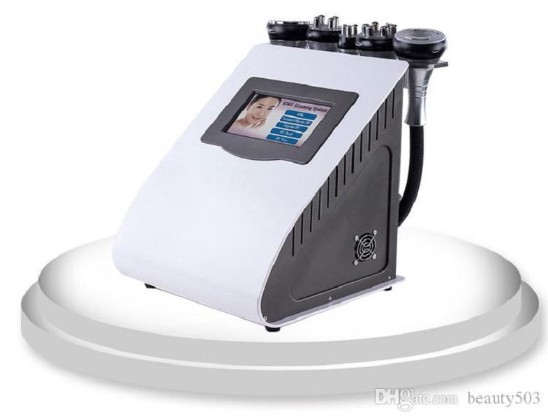 5 em 1 radiofrequência a laser de vácuo RF 40K Cavi Lipo emagrecimento Lipoaspiração ultra-sônica máquina de cavitação para SPA
