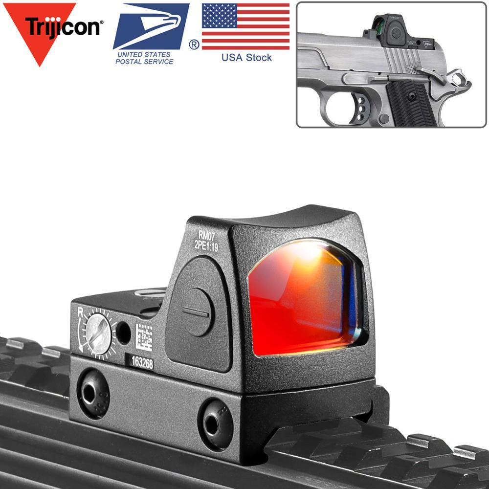 Trijicon RMR Red Dot Sight Collimator Dot Reflely Sight Scope Fit 20mm Weaver Rail Airsoft / Hunting Rifle 용