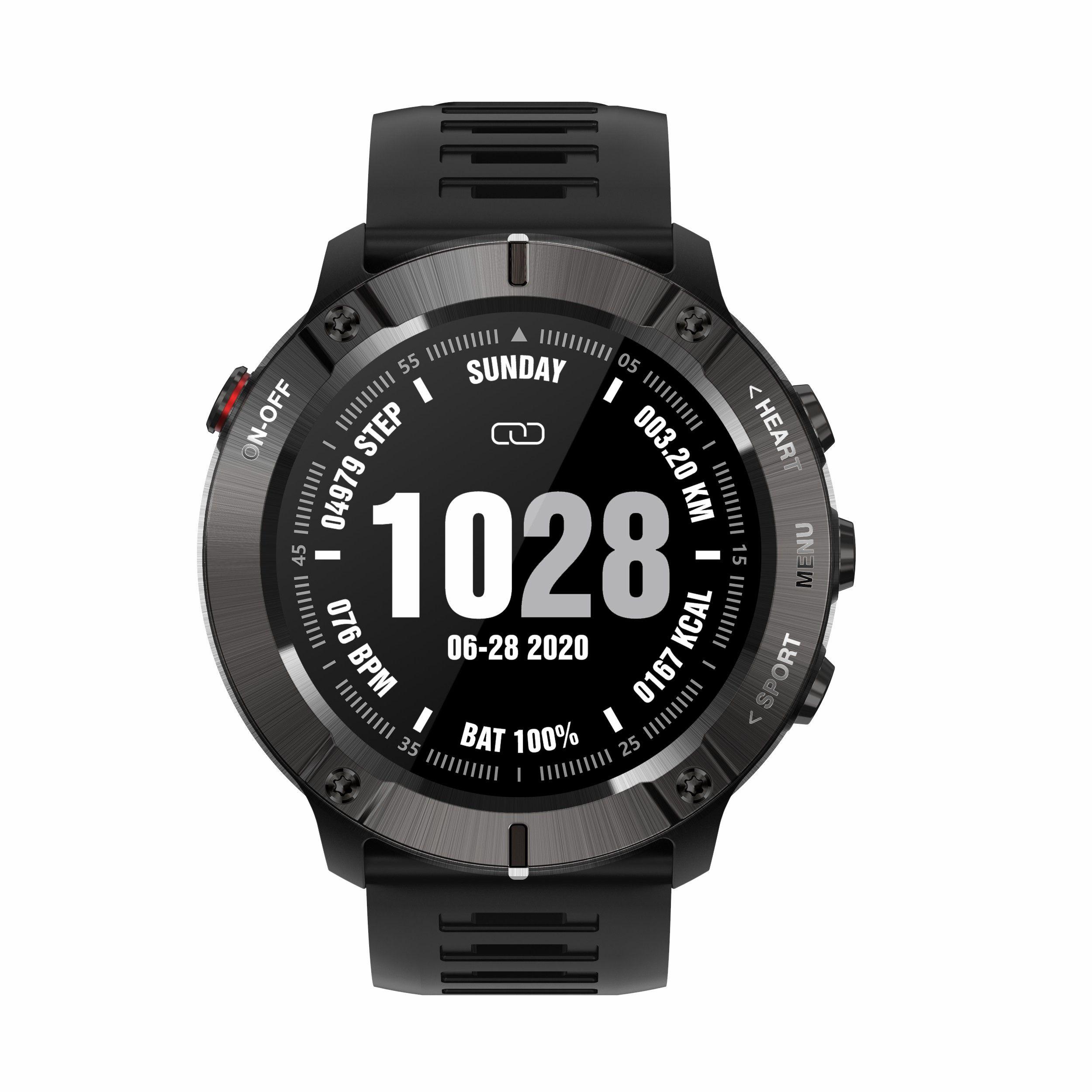 MC01 Smart Sports Watch Pedômetro Frequência Cardíaca Multi-Dial Interruptor Música Controle de Música Lembrete