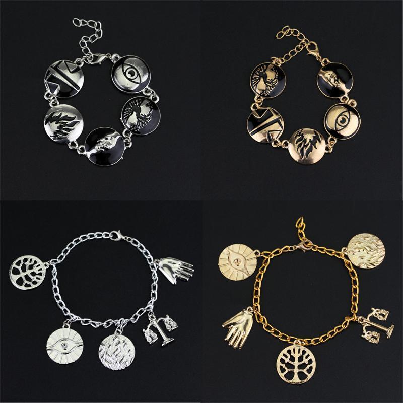 Charm Bracelets Divergent Dauntless Amity Abnegation Candor Erudite For Women Fashion Steampunk Jewelry Wristbands