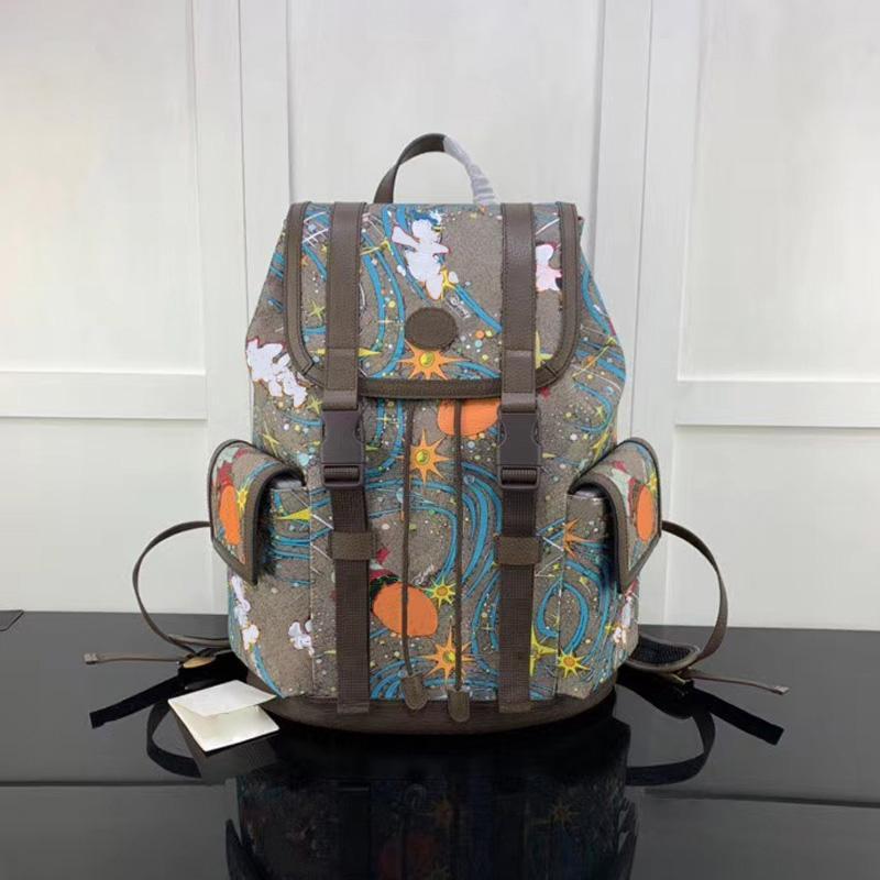 2021 Designer Handtaschen Geldbörsen Herren Rucksäcke Leder Trendy Handtasche Echt Luxurys Rucksack Für Männer Taschen 34.5x44x12.5cm
