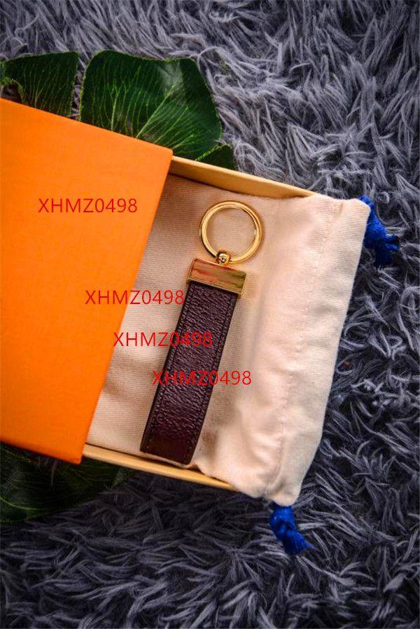 2020Luxury Keychain Alta Qualtiy Chaveiro Chaveiro Chaveiro Titular Da Marca Designers Chaveiro Chaveiro Porte Clef Presente Homens Mulheres Saco De Carros Chaveiros