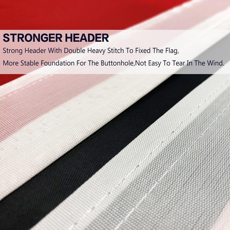 Neue direkte Fabrik Großhandel doppelt genäht 90x150 cm 3x5 fts stolz regenbogen bisexualität bi bisexuelle flagge gga4371