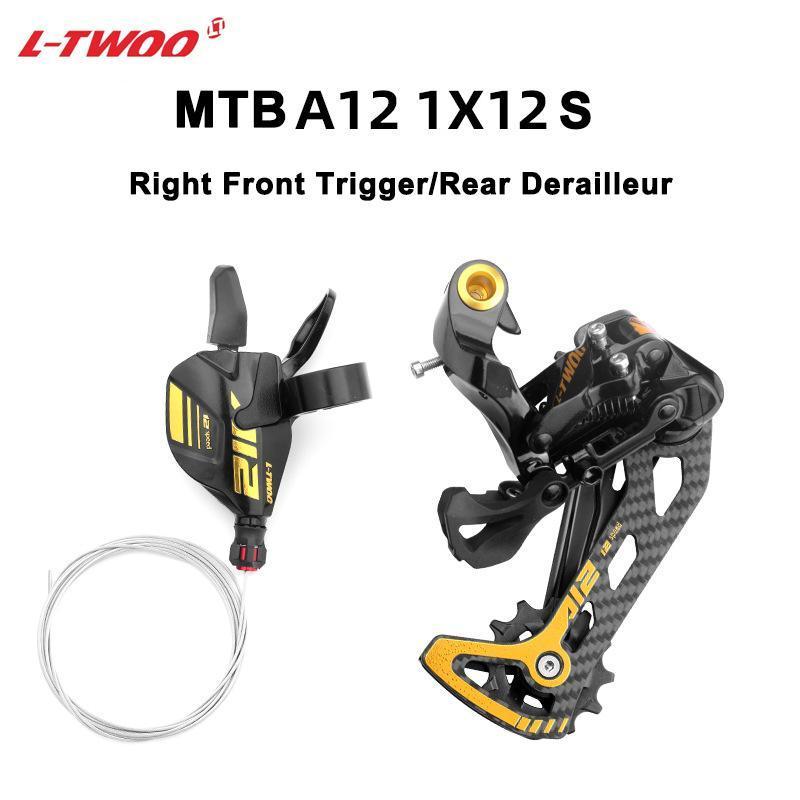 دراجة Derailleurs Ltwoo Shifter Lever A5 A7 في AX 8/9/10/11 / 12S Derailleur الخلفي لأجزاء MTB متوافقة مع كاسيت 52T