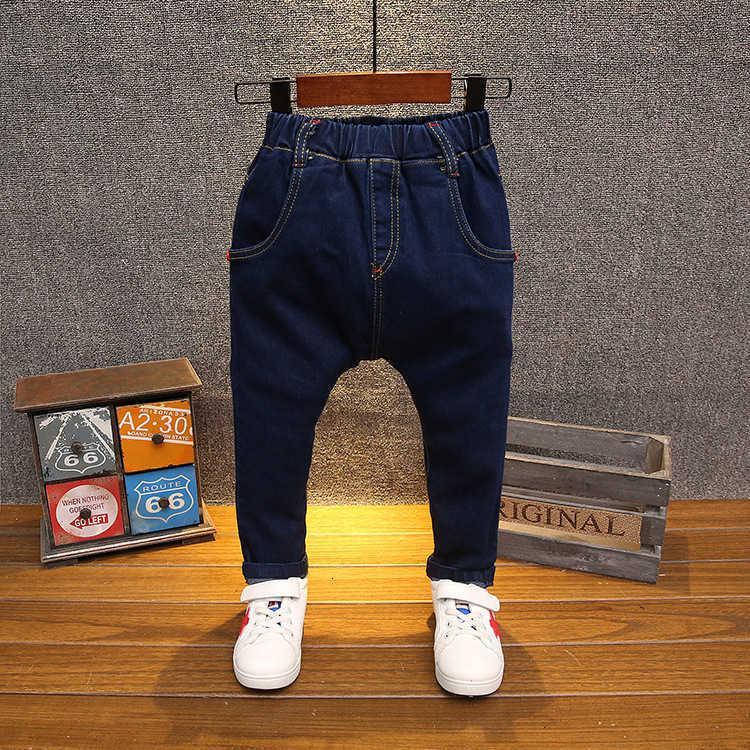 Kinderhosen Koreanische Jungen 'Reine Farbe Wasserwasch Jeans 6013
