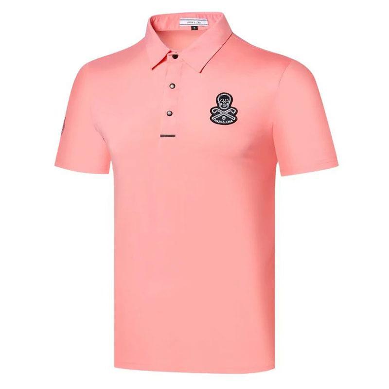 Estate Camicie da golf Camicie da uomo Manica corta T-shirt Badminton in esecuzione Baseball Sport all'aperto Sport per il tempo libero Polos