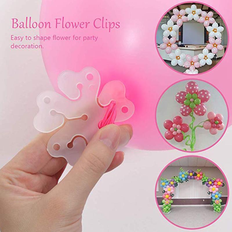 Delik DIY Bant Düzensiz Bağlantı Doğum Günü Dekorasyon Aracı Düğün Balon Şerit Seti Parti Malzemeleri Çiçek Klip Nokta Tutkal Bebek Dekorasyon