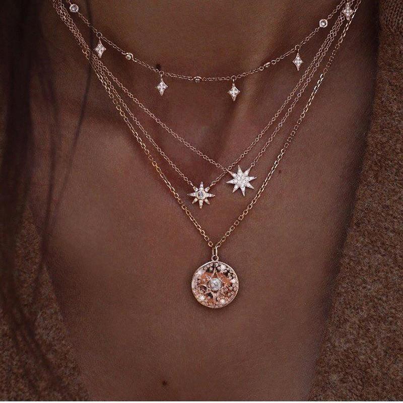 Meyfflin Böhmen Choker Halsketten Anhänger Vintage Simulierte Perle Kristall Mulatilayer Kette Frauen Halskette Modeschmuck Chokers