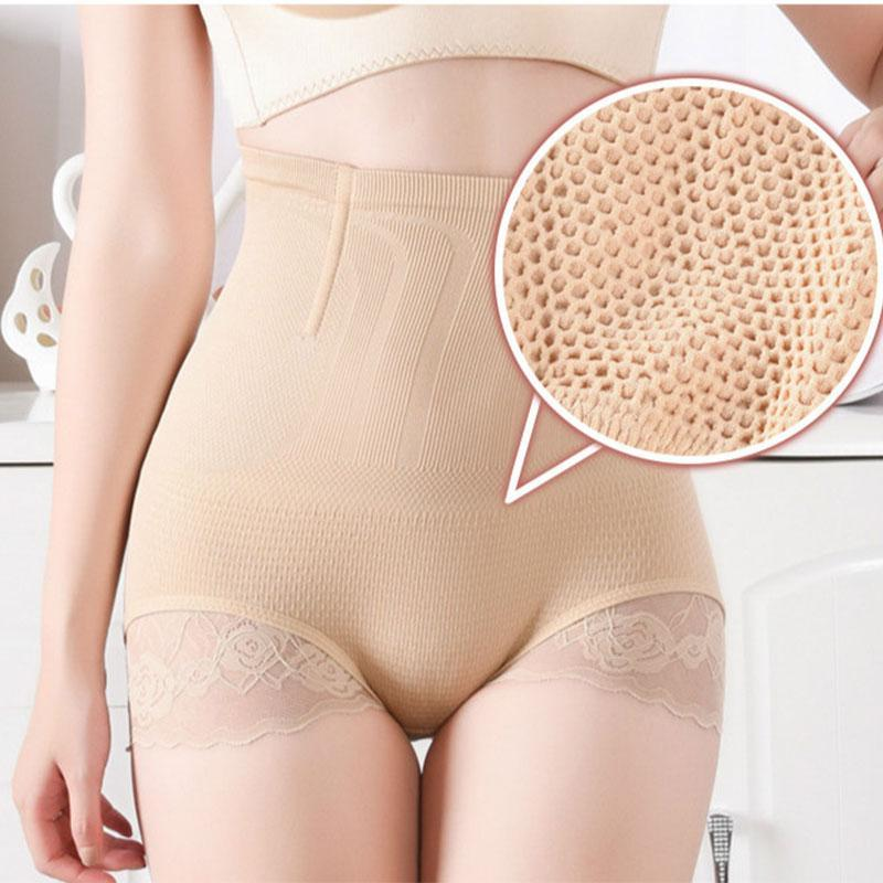 Women High Waist Slimming Control Panties Body Shaper Trainer Seamless Tummy Belly Reducing Shapewear Lady Underwear Brief Women's Shapers