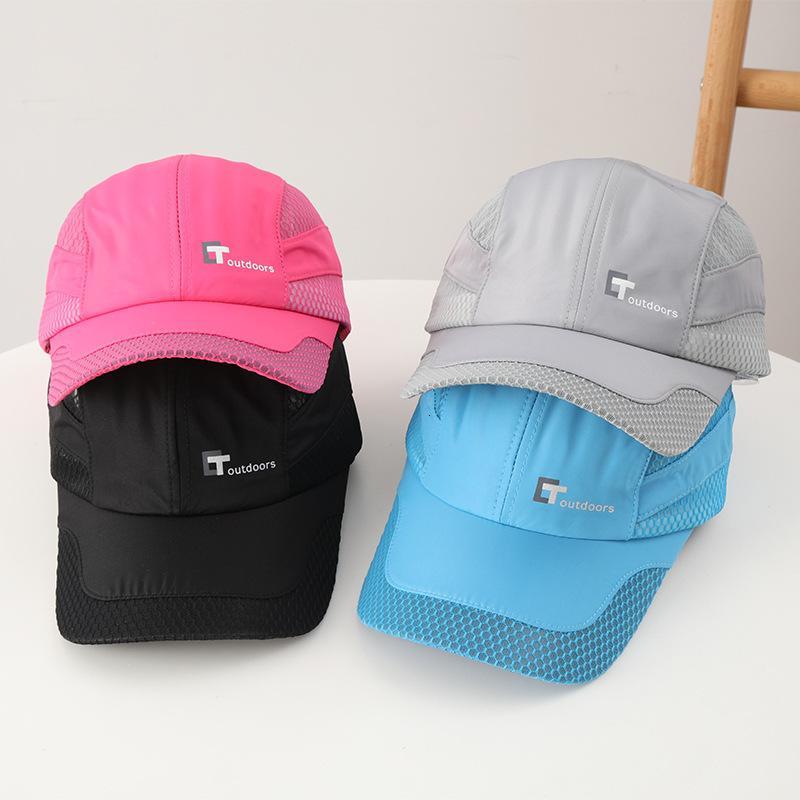 Sombreros qui secando sombrero marea de verano marea al aire libre sombrilla transpirable tapa hombre protector solar béisbol red sombrero sol sol