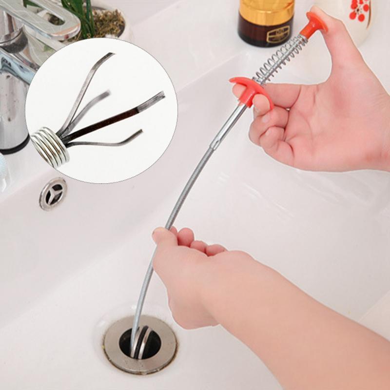 Outros Banheira Suprimentos Multifuncional Limpeza Categorador De Cabelo De Cozinha Ferramentas Ferramentas De Cozinha Removedor Grabber Para Duche Drains Bacia