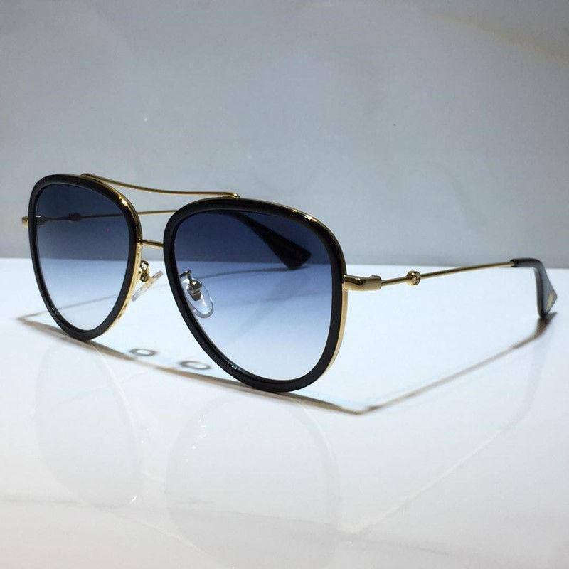 0062 sunglasses for women classic Summer Fashion Style metal and Plank Frame popular eye glasses Top Quality eyewear UV Protection Lens