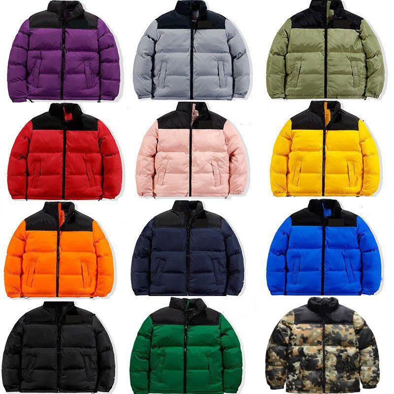패션 망 스타일리스트 코트 편지 인쇄 파카 겨울 자켓 남자 여자 깃털 오버 코트 다운 재킷 크기 S-4XL jk005