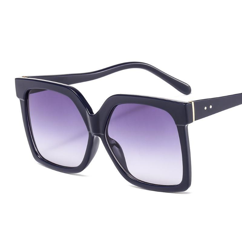 Kişilik Trend Büyük Çerçeve Moda Stil Kadın Güneş Gözlüğü Unisex Retro Gözlük Trend Ürünler