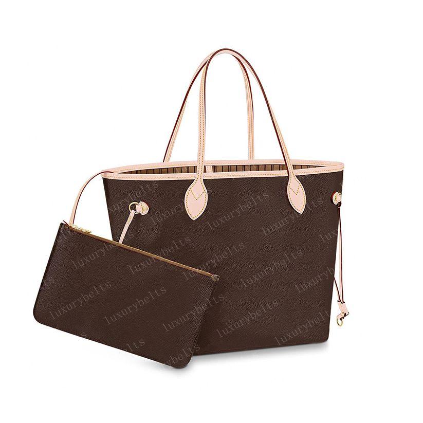 2021 Totes Handbags Tote Women Handbag Womens Bag Backpack Purses Brown Genuine Leather Clutch Fashion 40995 32cm/40cm #SS1-32