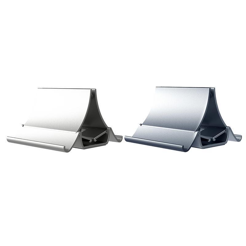 الهاتف الخليوي يتصاعد حاملي D88 تخزين الجاذبية حامل محمول قابل للتعديل عرض السيارات عمودي سطح المكتب للهواتف أقراص الكمبيوتر المحمول