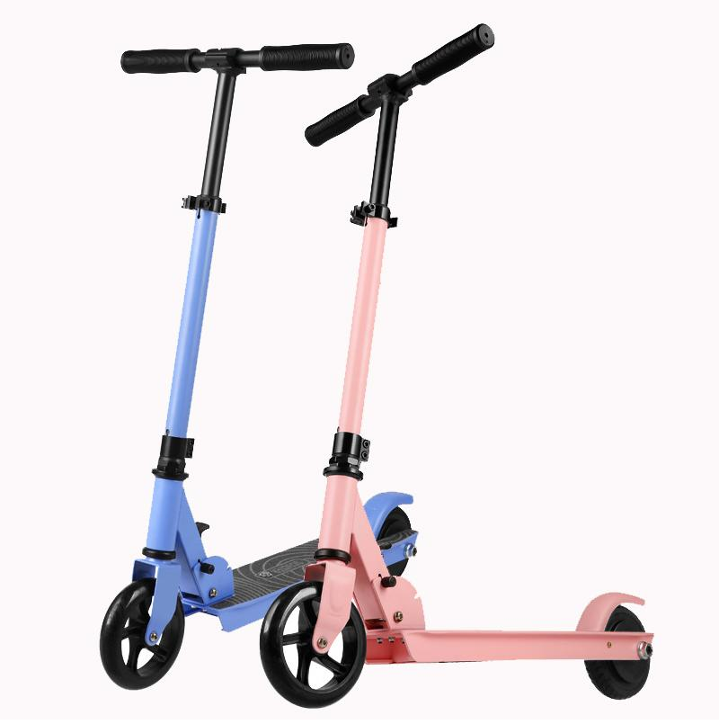 [UE EN STOCK] Q2 Pliable Smart Scooter Skooter 7km 24V 2Ah 5 pouces scooters électriques pour enfants