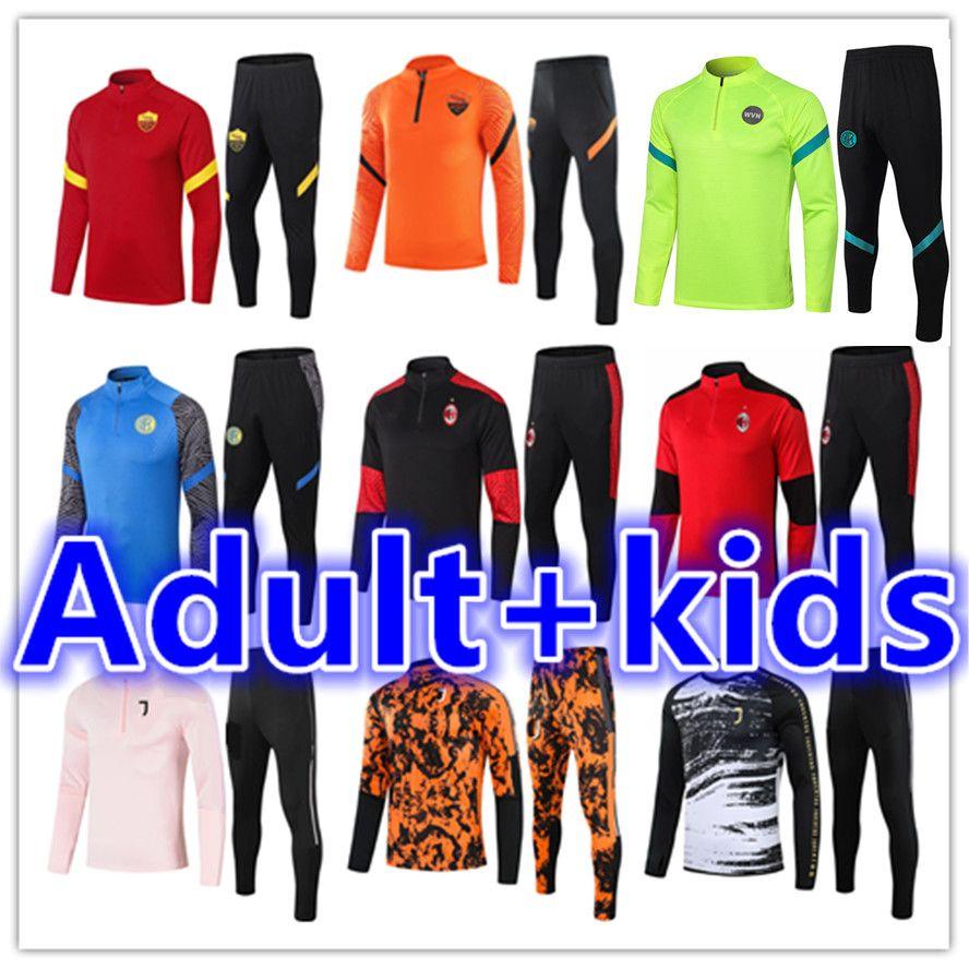 Взрослый футбольный спортивный тренер Chandal Futbol Mens и дети выжившие ноги майки для ноги 2021 тренажеры футбольные джерси трексуиты тренировки куртка