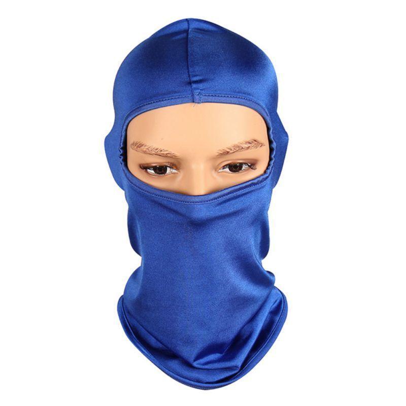 Ciclismo Face Máscara Balaclava Sunshade à prova de poeira à prova de ventos à prova de ventosas Motocicleta Rando Headwear Acessórios de ciclo ao ar livre Sportswear