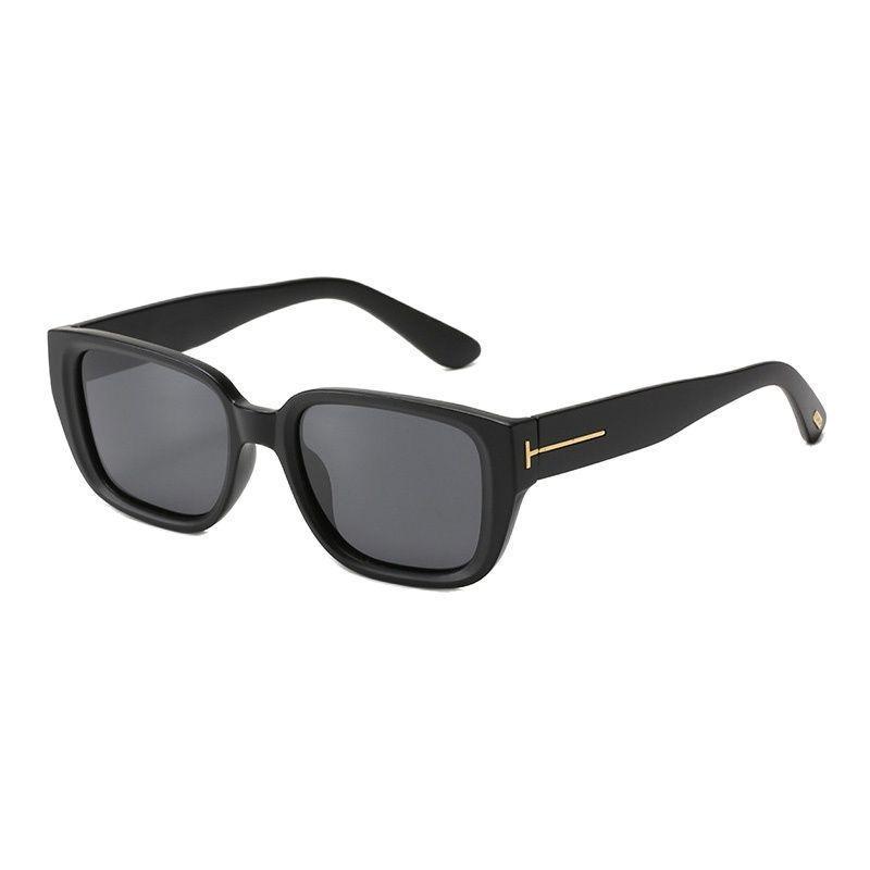 Солнцезащитные очки 2021 Роскошный Модный Бренд Дизайн Tom T Мужчины Женщины TAC Объектив 90S Квадратный Зеркал Oculos Gafas Прозрачный