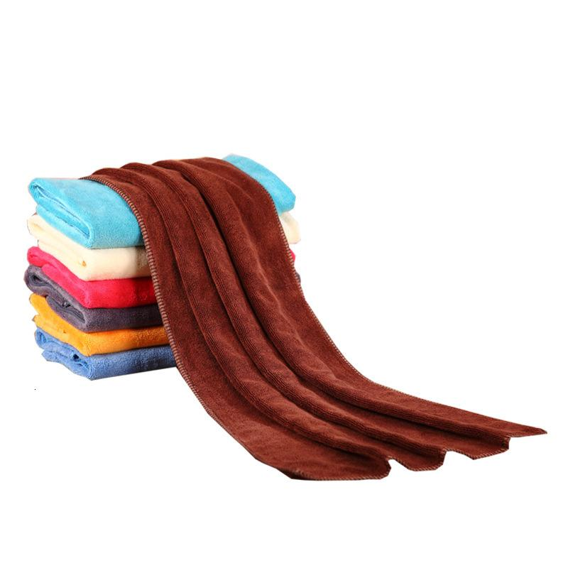 Loja de Barbear de Salão de Beleza Superfina de Fibra 35 * 75cm Toalha de cabelo seco absorvente espessado