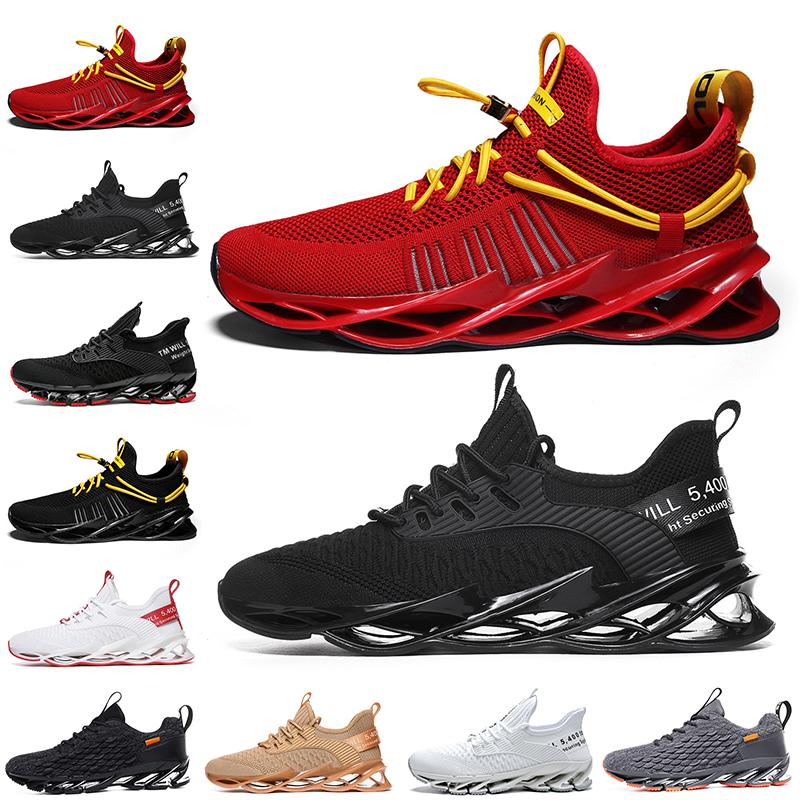 Fashion Non-Brand men women running shoes Blade slip on black white all red gray orange Terracotta Warriors trainers outdoor sports sneakers size 39-46