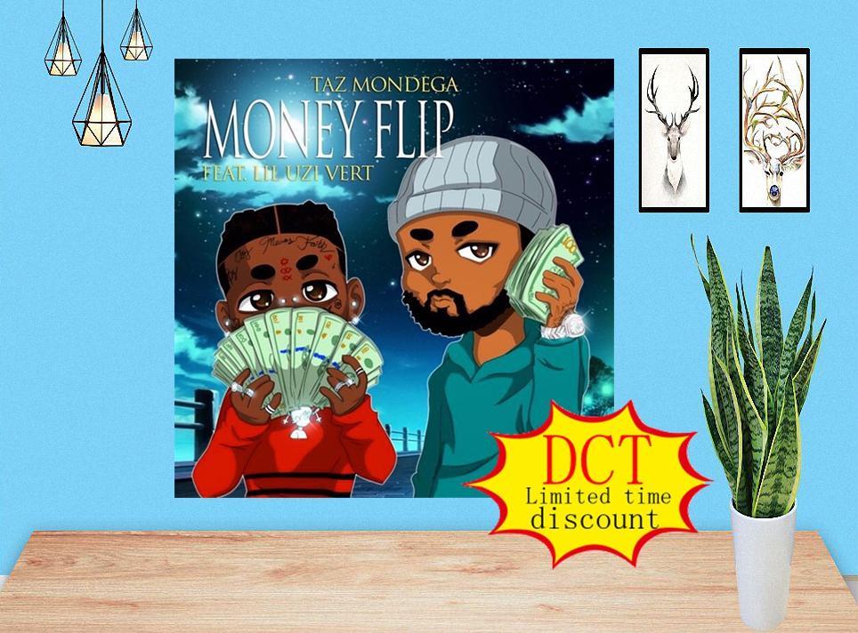Dinero Flip Taz Mondega feat. Lil Uzi Vert Album Poster Cover Silk Art Print 000