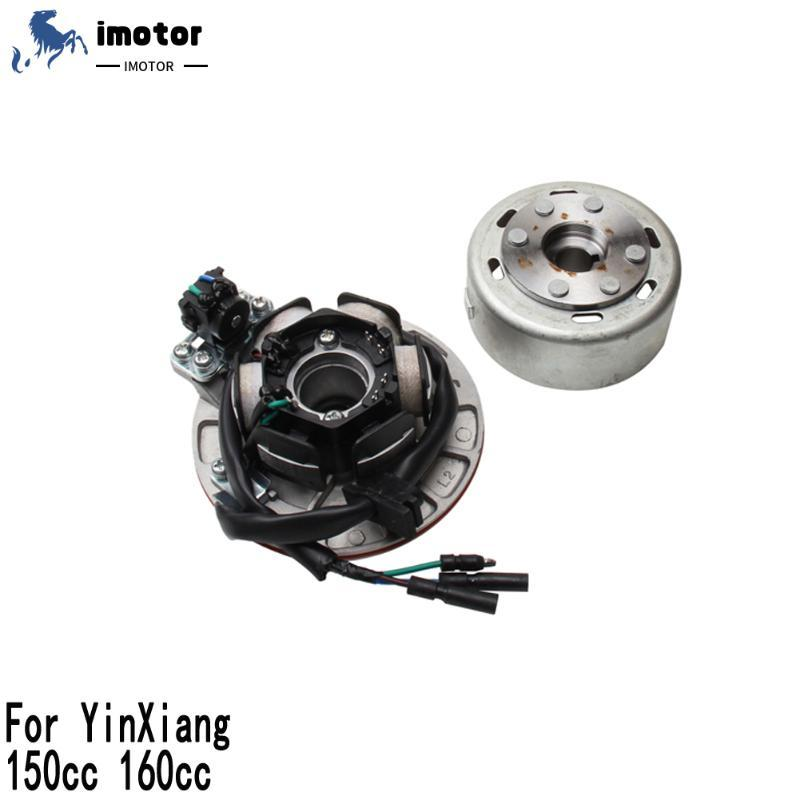 Pedais Yx 150 Magneto Stator Kit de rotor sem luz para yinxiang 150cc 160cc motor sujeira pit bike kayo bse sdg ssr pitterpro