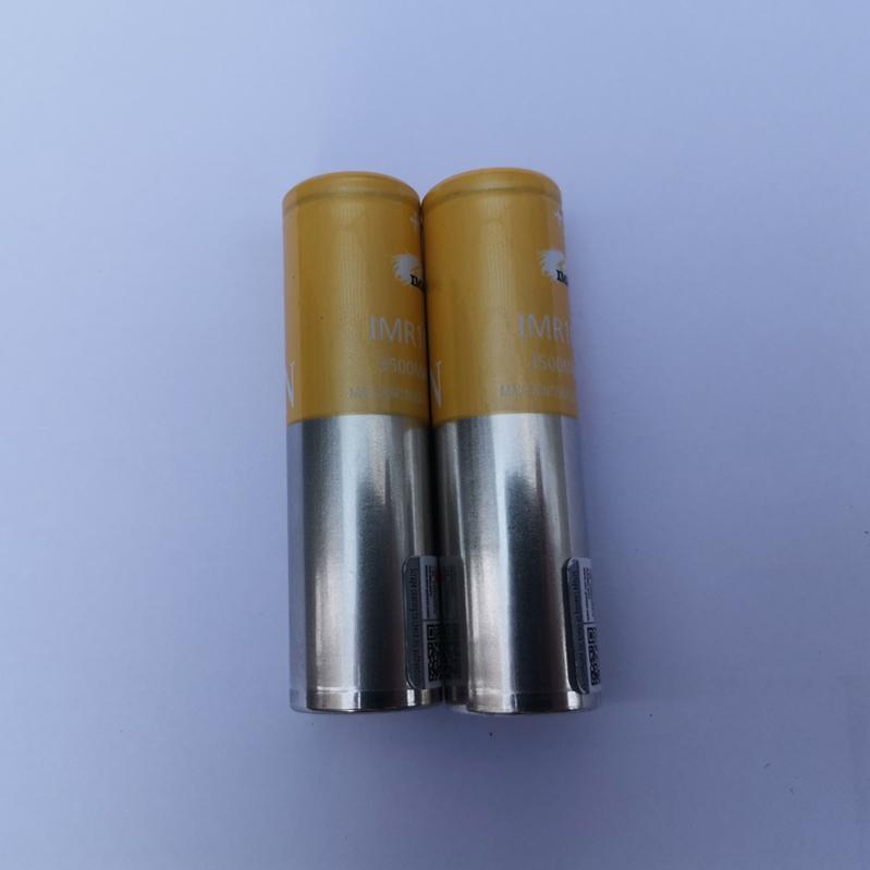 100% de Alta Qualidade IMR 18650 Bateria 3500 mAh 3.7 V 30A 18650 Baterias Recarregáveis Baterias De Lítio Fedex Frete Grátis