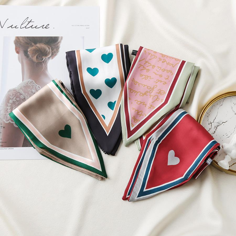 Четыре сезона Новый чистый цветной галстук головы творческие ленты узкая полоса маленький шелковый шарф для женщин Gulo