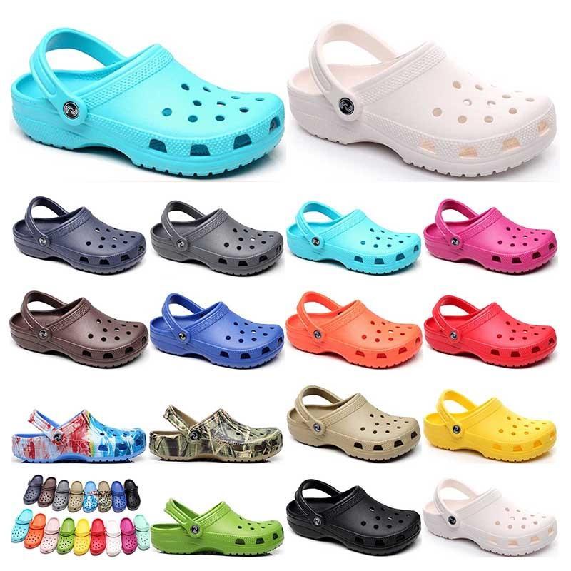 194 hotsale 패션 샌들 캐주얼 해변 방수 신발 남성 클래식 간호 분개 병원 여성 슬리퍼 작업 의료