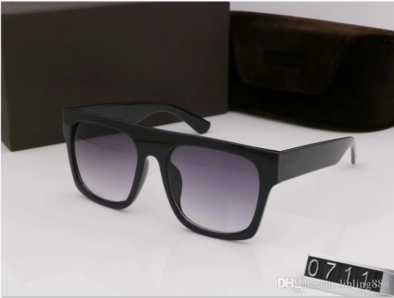 Designer Sonnenbrille Frauen Brillen Outdoor Shades PC-Rahmen Mode Classic Lady Sun Brille Spiegel Für Womens Luxus Sonnenbrille 0711