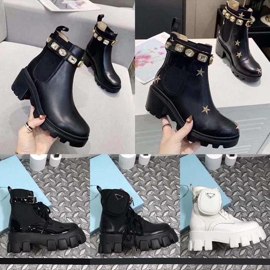 Zapatos de marca de lujo botas de diseño tacones altos y cuero genuino al aire libre moda mujer de moda tamaño 35-41 con caja por home011 15
