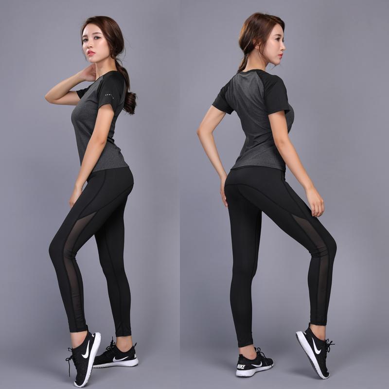 Calças de cintura alta senhoras fitness leggings mulheres sem costura apertada esticando exercício executando sweatpants yoga push up