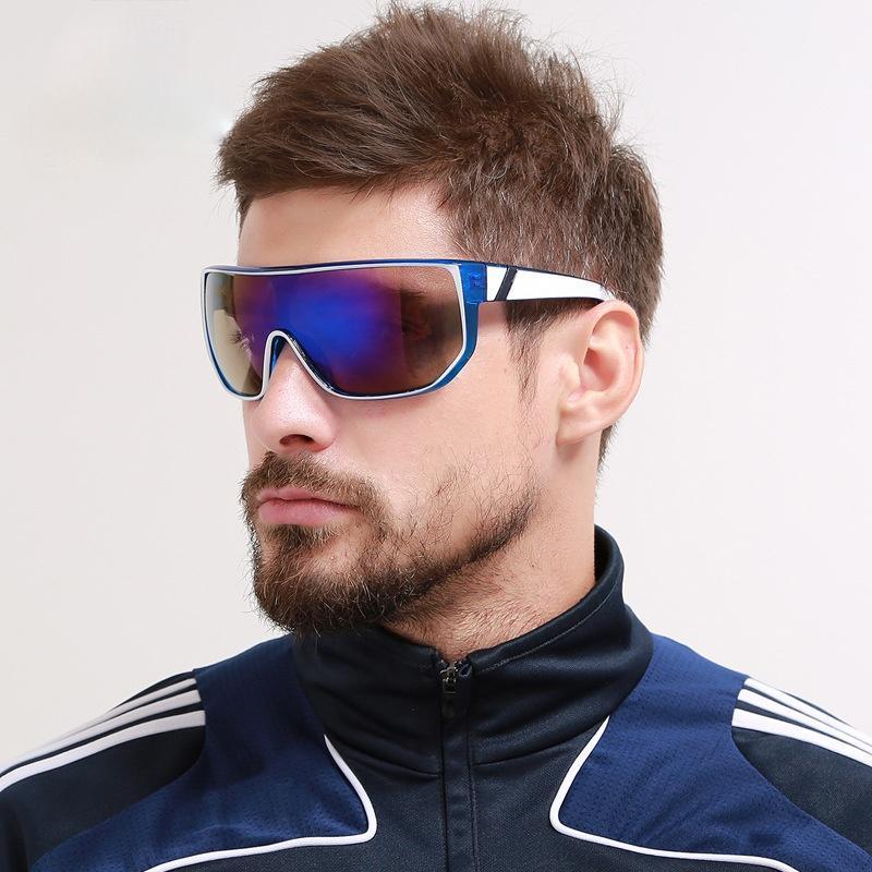 النظارات الشمسية GCV الرجال أزياء خمر مصمم ظلال النظارات الاستقطاب للرجال نظارات