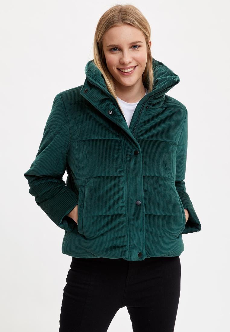 Casacos de casacos de mulher de inverno revestimento casaco de gola outerwear quente moda quente nova temporada