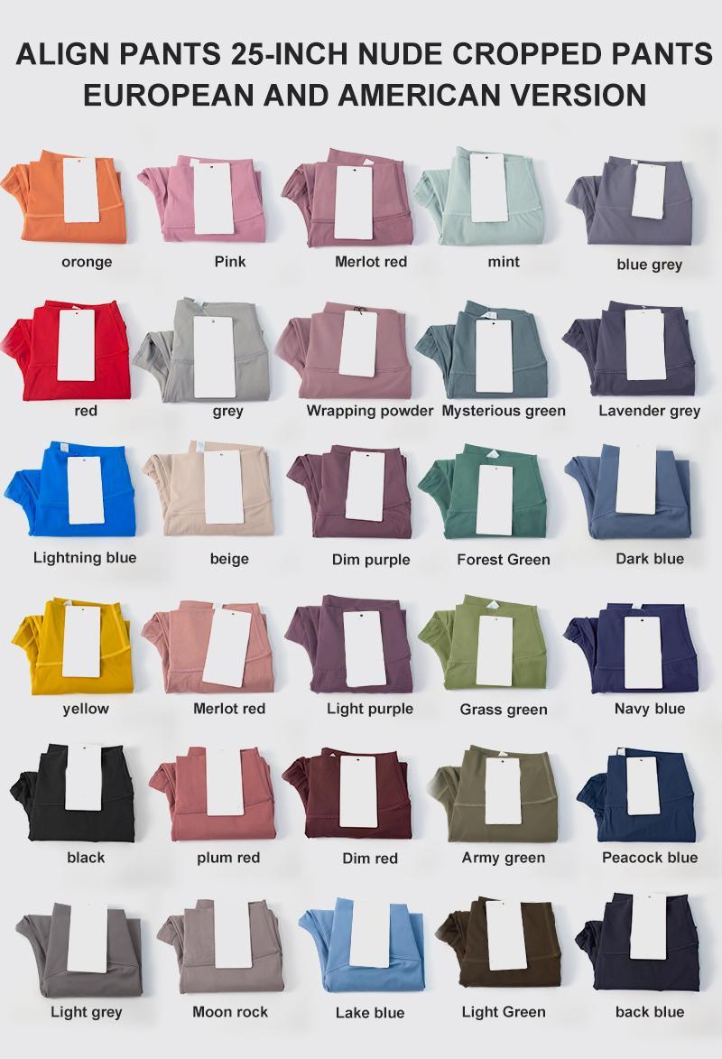 32 لون طماق طماق مصمم اليوغا الزي السراويل عالية الخصر الرياضة الرياضة الرياضية ارتداء بانت مرونة اللياقة البدنية الكامل الجوارب الكامل تجريب بنطلون ضيق