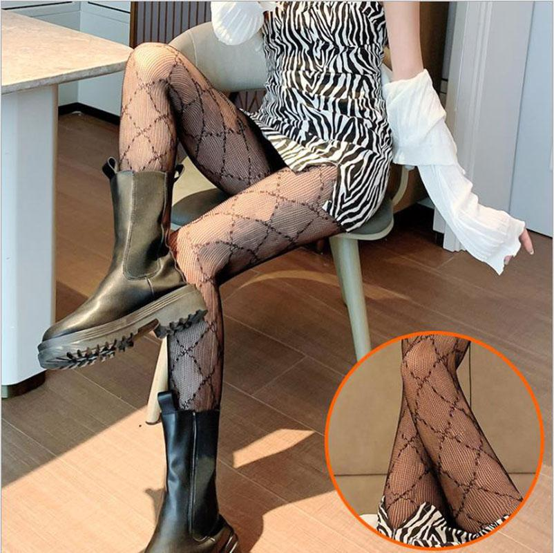 Женские сексуальные колготки, чулки Fishnet носки мода соединенные тела сплошные цвета женские длинные носки с буквами шаблон 2 цвета