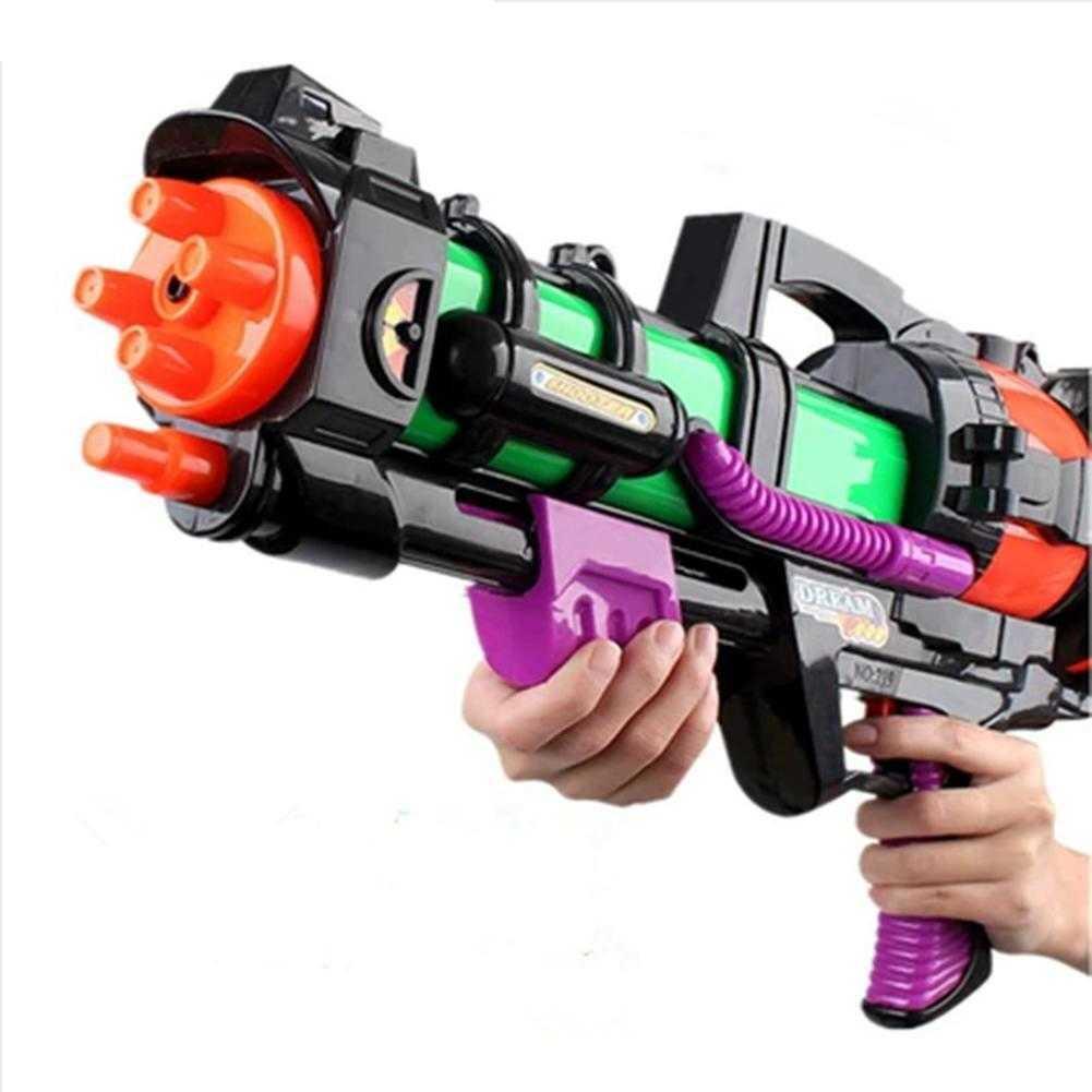 45 سنتيمتر بندقية المياه البلاستيك نموذج أطقم الصيف شاطئ البحر بندقية سعة كبيرة ألعاب الأساسية للأطفال أطفال الكبار