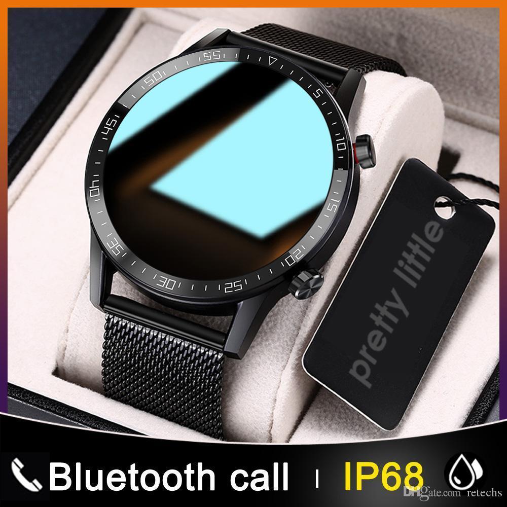 ID L13 Smart Watch Men IP68 Waterproof ECG PPG Bluetooth Call Blood Pressure Heart Rate Fitness Tracker Sports Smartwatch